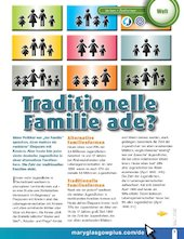 Traditionelle Familie ade?