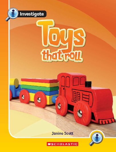 Investigate: Toys That Roll x 6