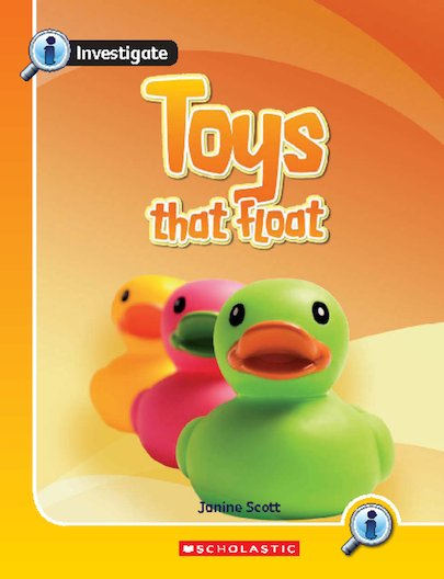 Investigate: Toys That Float x 6