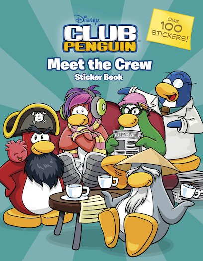 Club Penguin: Meet the Crew Sticker Book