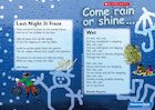 Come rain or shine – Guided reading leaflet