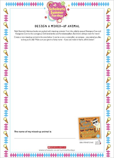 Design a Mixed-up Animal