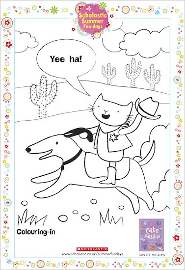 Perfectly Pretty Cats and Kittens colouring