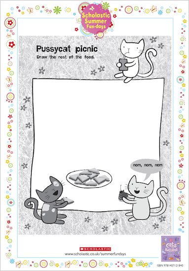 Cats and Kittens Pussycat Picnic