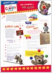 Little Charley Bear activity pack (8 pages)
