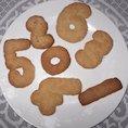 Number biscuits