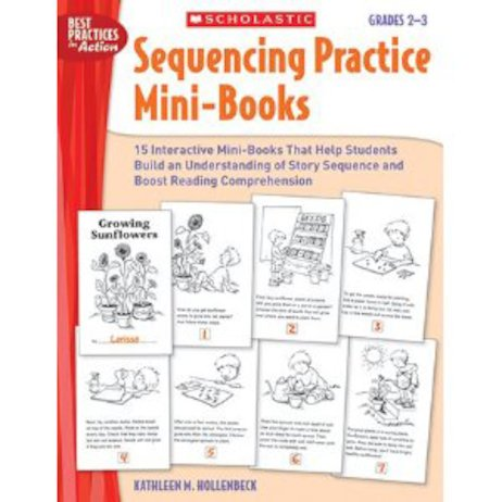 Sequencing Practice Mini-Books: Grades 2-3