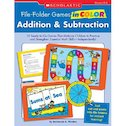 File-Folder Games In Color: Addition and Subtraction