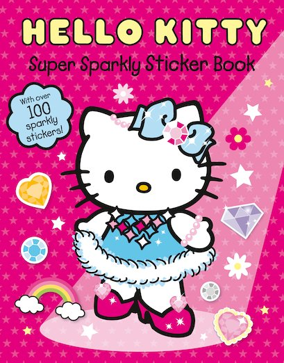 Hello Kitty: Super Sparkly Sticker Book