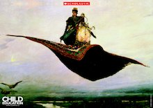 Flying carpet poster