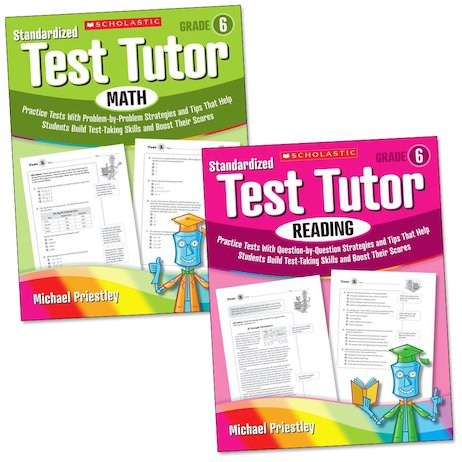 Standardized Test Tutor: Grade 6 Set