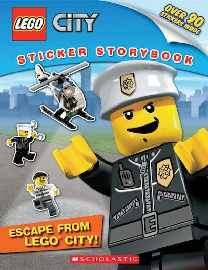 LEGO® City: Escape from LEGO City! Sticker Storybook