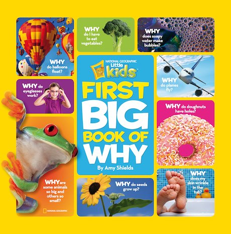 National Geographic Little Kids: First Big Book of Why