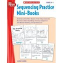 Sequencing Practice Mini-Books: Grades K-1