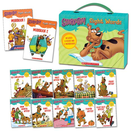 Scooby-Doo! Sight Words Box Set