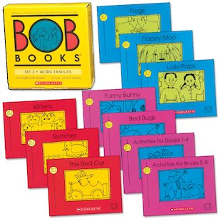 Bob Books: Word Families