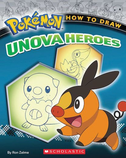 Pokémon: How to Draw Unova Heroes