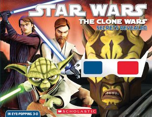 Star Wars: The Clone Wars - Secrets Revealed 3D Storybook