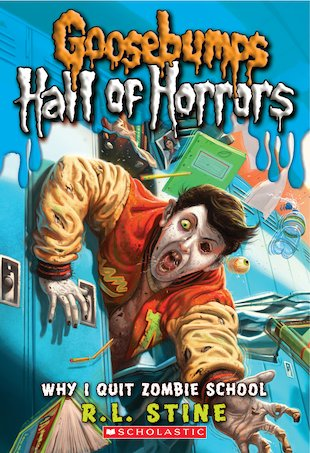 Goosebumps Hall of Horrors: Why I Quit Zombie School