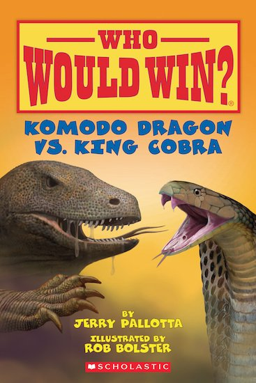 Who Would Win? Komodo Dragon  vs. King Cobra