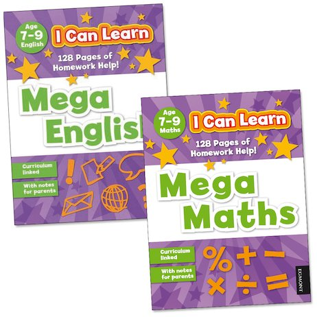 I Can Learn: Mega Pack (Ages 7-9)
