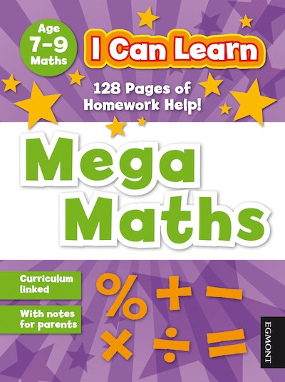 I Can Learn: Mega Maths (Ages 7-9)