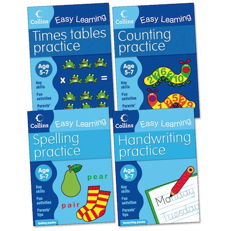Collins Easy Learning Pack: Ages 5-7