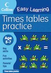 Collins Easy Learning: Times Tables Practice (Ages 5-7)