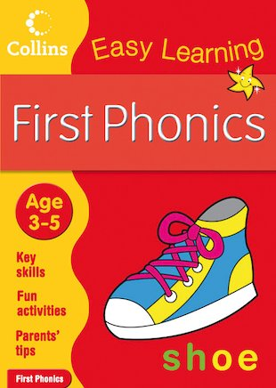 Collins Easy Learning: First Phonics (Ages 3-5)