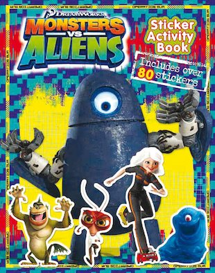 Monsters Vs Aliens Sticker Activity Book