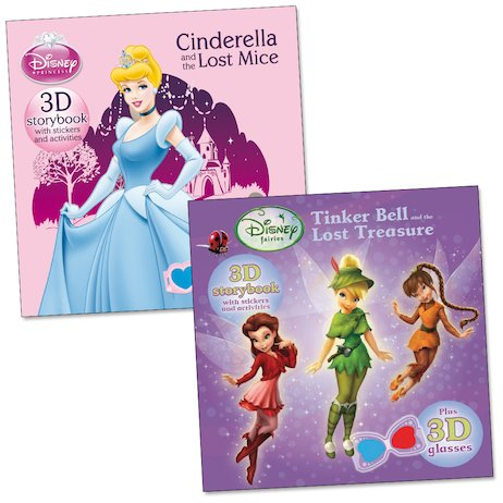 Disney 3D Storybooks: Fairies and Princesses Pack
