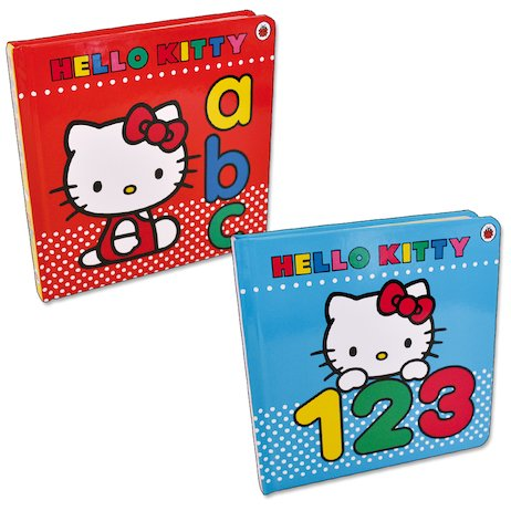 Hello Kitty: ABC and 123 Pair