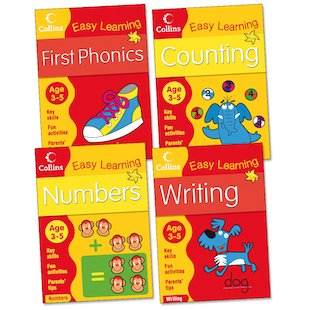 Collins Easy Learning Pack: Ages 3-5