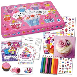 Cutest Cupcakes Stationery Box