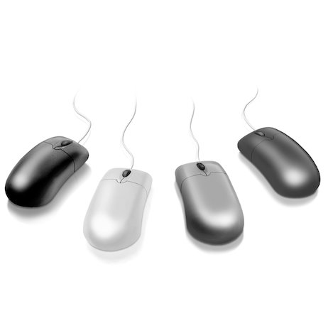 Computer Mice: Pack of 4