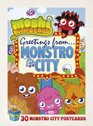 Moshi Monsters: Greetings from Monstro City Postcards