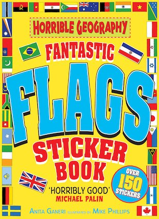 Fantastic Flags Sticker Book