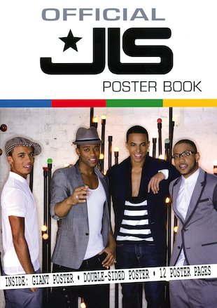 Official JLS Poster Book