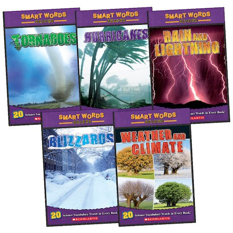 Smart Words Readers Pack: Weather