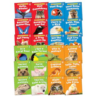 Guided Science Readers Pack: Animals x 24