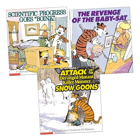 Calvin and Hobbes Trio
