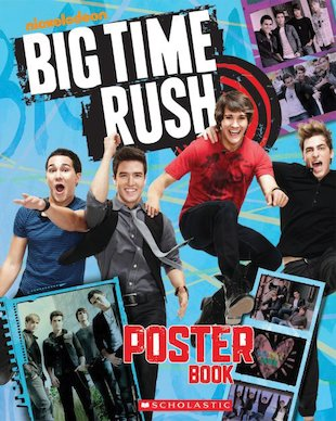 Big Time Rush Poster Book