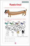 Hachiko: a loyal dog: Sample Activity (1 page)
