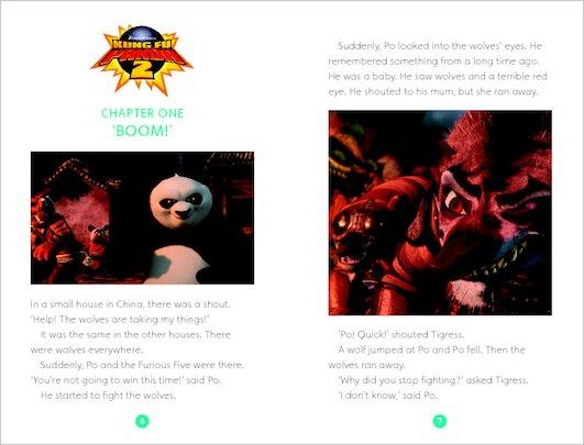 Kung Fu Panda 2: Sample Chapter