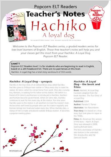 Hachiko: A loyal dog: Teacher's Notes