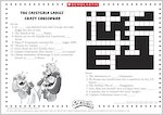 Captain Underpants Cafeteria Crossword