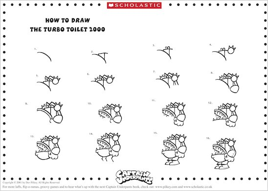 How to Draw the Turbo Toilet