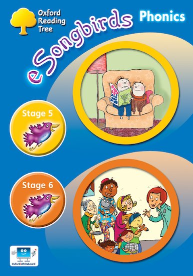 eSongbirds Phonics CD-ROM: Stages 5 and 6 (Single User Licence)