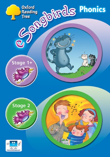 eSongbirds Phonics CD-ROM: Stages 1 and 2 (Single User Licence)