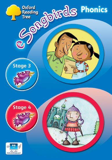 eSongbirds Phonics CD-ROM: Stages 3 and 4 (Unlimited User Licence)